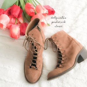 Billabong Lace Up Ankle Boots